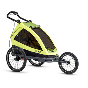 s'cool taXXi Elite Trailers for One, lemon